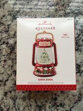 2013 Hallmark Santa Signal Keepsake Ornament MAGIC Christmas Lantern RARE MINT