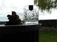 "Edinburgh Crystal  ROTHESAY  3""  WHISKY  glass OR glasses ( RARE )"