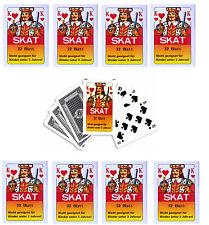 24x Skatkarten / 32 Blatt Skat Karten Spielkarten Französisch Blatt Wurfmaterial