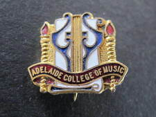 Adelaide College of Music Enamel Badge AJ Parkes Brisbane