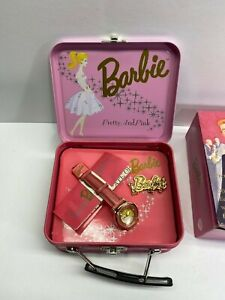 Fossil 1994 Barbie Pretty And Pink Watch New In Box Complete Working No Reserve