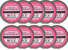 Bath and Body Works Twisted Peppermint Scentportable Car Fragrance Refills X10
