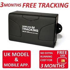 3 mes Gratis Reino Unido del vehículo rastreador de seguimiento en tiempo real TK104 Pro Coche Moto en vivo