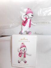 New Hallmark Polar Bear One Cool Girl Ornament Pink