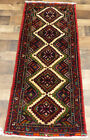 2'x5' Authentic Excellent Hand Knotted wool Tribal Oriental Geometric rug runner