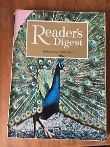 Vintage December 1960 Issue of Readers Digest (Reader's Digest) magazine