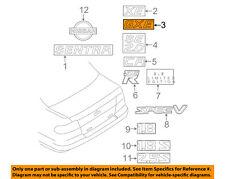 NISSAN OEM 00-03 Sentra Trunk Lid-Emblem Badge Nameplate 848965M001