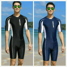 USA Men's Spring Suit Shorty Sun Protection Swimming Suit Beach Clothes