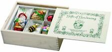 Inge-Glas 1-107-07 107007 Gifts of Gardening Christmas Ornament Wooden Box