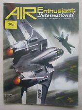 AIR ENTHUSIAST 1/1974 PAN AM 747 F-14 TOMCAT ANZUK HS.146 BRISTOL BEAUFIGHTER