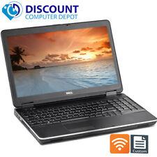 """Dell E6540 Laptop PC 15.6"""" 😊 Core i5 1TB SSD 16GB Webcam WiFI 😊 Windows 10 Pro"""