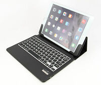 New For iPad air Stand Leather Case Cover with Bluetooth Keyboard