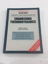 Schaum's Mechanical Engineering Thermodynamics - Merle C. Potter (1992, PB)
