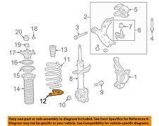 Acura HONDA OEM 13-18 RDX Front-Lower Spring Insulator 51684TX4A01