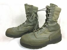 BELLEVILLE 630 ST Hot Weather USAF Steel Toe Maintainer Combat Boots Green 8 R