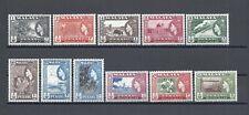 MALAYA/PENANG 1957 SG 44/54 MNH Cat £65