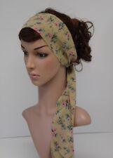 Corbata de pelo, cabello Bandana, diadema, bufanda larga, bufanda de pelo, Cabeza Bufanda, Pañuelo