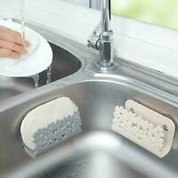 Sponges Holder Rack Drying Sink Storage Kitchen Bathroom Soap Scrubbers C5N4