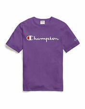 Champion Life T-Shirt Tee Mens Script Logo Heavy Athletic Fit 100% Cotton Jersey