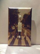 Custom Handmade Abbey Road (Beatles) Single Toggle Light Switch Cover