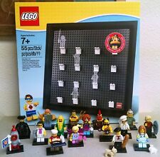 Lego Complete Cmf Series 17 Minifigures + Exclusive Minifigure Collector Frame