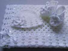 Crochet Pattern Baby Blanket, Hat, Booties, SAME DAY DELIVERY TO YOUR EMAIL F32.