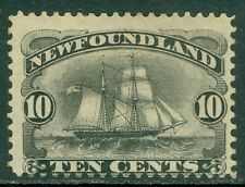 EDW1949SELL : NEWFOUNDLAND 1888. Ships. Mint Original Gum. Catalog £75.00.