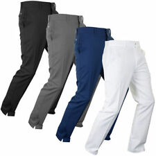 Slim Fit Mid Rise 34L Trousers for Men