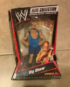 WWE Elite Collection Big Show Figure Series 4 NEW Factory Sealed  BAD SHAPE BOX
