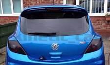 Vauxhall corsa D ABS rear eyebrows eyelids spoilers VXR