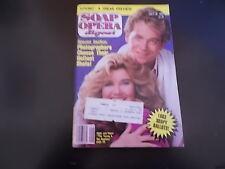 Genie Francis, Jeff Fahey - Soap Opera Digest Magazine 1983