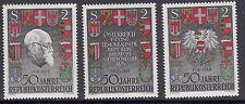 Österreich Austria 1057  40 J. Republik Bundespräsident Karl Renner 1958 **