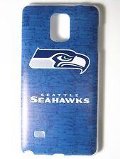 NFL Seattle Seahawks Samsung Galaxy Note 4 N910 Plastic One-Piece Slim Case