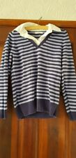 Womens striped purple jumper from M&S, size 14