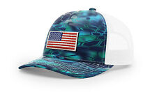 Richardson Cap | 112P American Flag Patch designs | Kryptek Camo