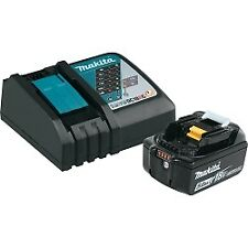 Makita BL1850BDC1 18v Lithium Ion Battery (5.0Ah) and Charger Starte