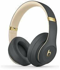 Beats by Dre Studio 3 Foldable Wireless Over-Ear Headphones with Mic - Grey