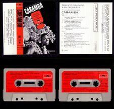 ROBERTO DELGADO Y SU ORQUESTA - CARAMBA -SPAIN CASSETTE POLYDOR 1968- NEW SEALED