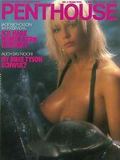 Penthouse 03/1990 loretta Ybarra & Lynn Johnson * Marzo/1990