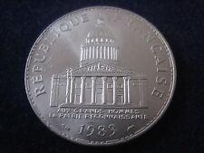 """MDS francia 100 francos 1983 """"Pantheon"""", plata"""