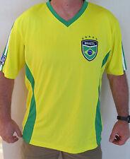 Gol Brazil Futbol Soccer Jersey Size Xl WorldCup Host Nation Yellow Nice!