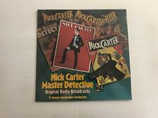 GEORGE GARABEDIAN Nick Carter Master Detective LP Mark56 Rec 619 1973 SEALED 10B