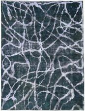 Design Vintage Picasso Aspect Jean Laver Persan Tapis D'Orient 3,07 X 2,33