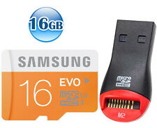 SAMSUNG CLASS10 micro SDHC EVO 16GB 16G micro SD Flash Memory Card 48MB/s* +