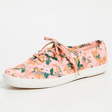 Keds x Rifle Paper Co Meadow Pink Floral Lace Up Low Top Sneakers Shoes NWT Sz 8