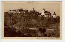 AK Gars am Kamp, Ruine Gars u. St. Gertrud Kirche, 1923