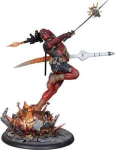 DEADPOOL Heat Seeker SIDESHOW EXCLUSIVE Premium Format Statue NEW 365/1500