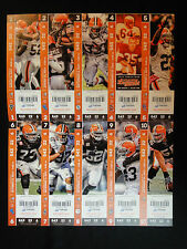 CLEVELAND BROWNS VS TENNESSEE TITANS OCTOBER 22 2017 TICKET STUB