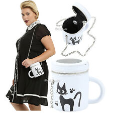 Studio Ghibli Kiki's Delivery Service Jiji Cat Mug Cup Crossbody Bag Tote Purse
