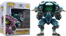 "FUNKO POP! Overwatch - D.Va and MEKA (Blueberry) 6"" Super Sized"